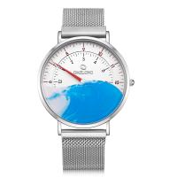 Buy cheap Hardened Mineral Glass Watch , Modern Premium Mens Watch With Nylon Band from wholesalers