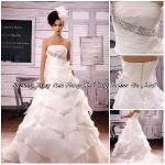 2012 Handmade Wedding Dress (BS-047) Manufactures