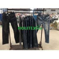Buy cheap Second Hand Mens Clothing , Korean Style Used Mens Jeans Pants For Southeast Asia from wholesalers