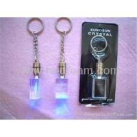 Buy cheap Led keychain lights;led crystal keychain LK-032 from wholesalers