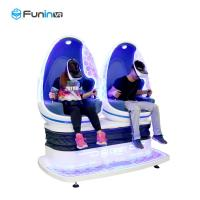 Buy cheap Power Rating Virtual Reality Machine Double Seats Capsule 9d Vr Egg Cinema from wholesalers