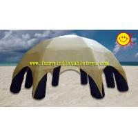 Outdoor Exhibition 6 - 8 Legs PVC Tarpaulin Inflatable Spider Tent /  Marquees