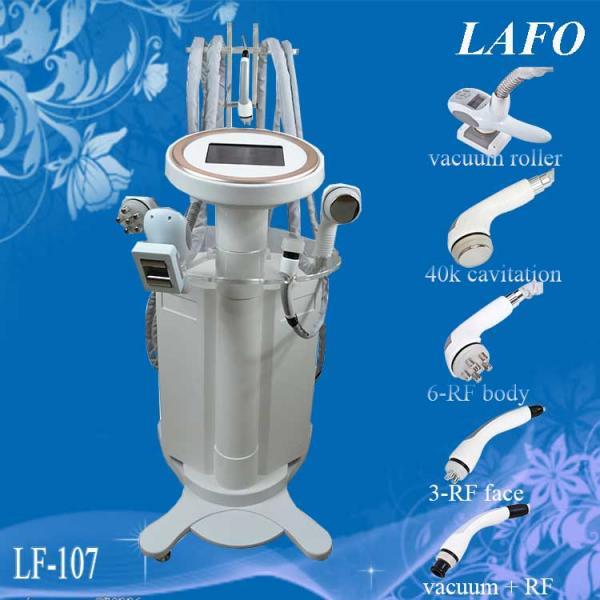 Buy cheap 5 in 1 vacuum roller cavitation rf massage slimming machine from wholesalers