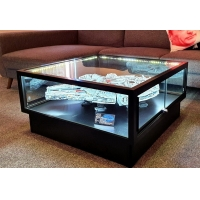 Buy cheap LCD Screen Interactive Showcase Display For Customers Shopping from wholesalers