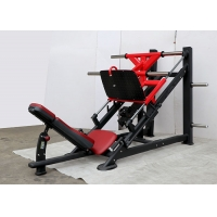 Buy cheap Red Full Fitness Seated Leg Press Machine For Muscle Exercise from wholesalers