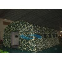 Wholesale Wind Resistant Camouflage Inflatable Tents Large For Military / Army SGS Approval from china suppliers