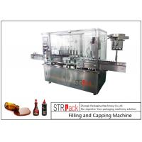 Buy cheap 8 Head Syrup Automatic Filling And Capping Machine For Pharmaceutical Production Line from wholesalers