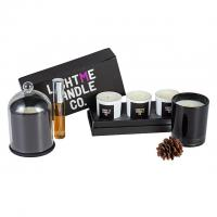Buy cheap Pillar Shape Diffuser Candle Set / Scented Home Fragrance Gift Set Custom Size product