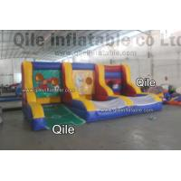Buy cheap Reinforced Safe Inflatable Sports Games Football / Soccer Goal Post CE / EN14960 from wholesalers