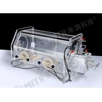 Buy cheap Lab Vacuum Acrylic Glove Box With Limiting Vacuum Degree To -0.1MPA from wholesalers