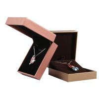 Buy cheap Custom Made Fashion Empty Cardboard Jewelry Boxes Earring Display Box For Ladies from wholesalers