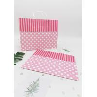 Buy cheap Recycled  Decorating Paper Bags For Gifts /  Retail  Kraft Paper Gift Bags from wholesalers