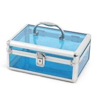 Wholesale Clear Plastic Makeup Organizers / Plastic Makeup Storage Boxes Carry - On Case from china suppliers