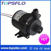 Buy cheap TOPSFLO dc mini water pump/hot water circulation pump/silent sound sleep mat pad pump TL-B01 from wholesalers