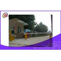 AC 220V Access Automatic Vehicle Barriers / Safety Car Boom Barrier Gate Manufactures