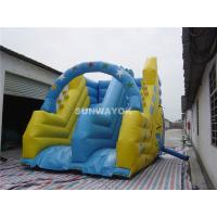 Blow Up Kids / Adult Commercial Inflatable Slide In Ground Pools Manufactures