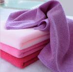 Buy cheap 30 * 70cm absorbent microfiber towel Anti Shrink Soft Microfiber Hand Towel Face Towel from wholesalers