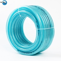 Buy cheap Direct factory good quality colorful pvc high pressure reinforced fiber hose from wholesalers