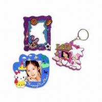 Wholesale Soft PVC Photo Frames, Can be as PVC Photo Frame Keychain, OEM/ODM Orders Welcomed from china suppliers