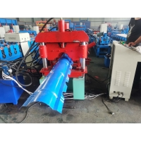 Buy cheap Metal Roof 5.5kw Ridge Cap Roll Forming Machine from wholesalers