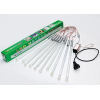 Buy cheap Holiday 30cm LED Meteor Lights , White / Multicolor Shower Rain Tube Lights from wholesalers