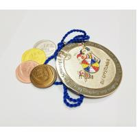 Wholesale Factory direct sale custom metal diamond shaped gold plated carnival medals with sandblastinggermany carnival medal , from china suppliers