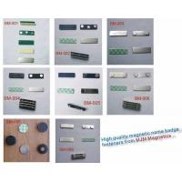 Buy cheap High Quality Badge Magnets,Magnetic Name Badge Fasteners from wholesalers