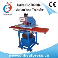 Buy cheap Hydraulic AUTO Double Working Position T-shirts Heat Press Machine from wholesalers