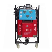 Buy cheap 9.5KW heating power polyurethane spray/injection foam insulation machine/equipment for projects polyurethane foam equipm from wholesalers