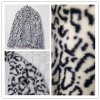 Buy cheap Womens Faux Fur Jacket , Water Resistant Fake Fur Leopard Coat from wholesalers