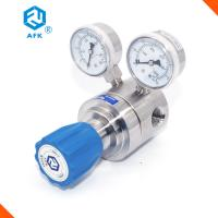 Buy cheap Helium Natural Gas Stainless Steel Pressure Regulator Single Stage Cv Value 1.8 from wholesalers