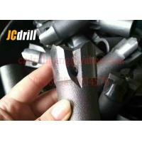Buy cheap Industrial Tapered Chisel Rock Drill Head / Hard Rock Button Drill Bits 11 Degree from wholesalers