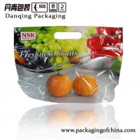 Buy cheap Flexible Fresh Fruit Packaging Bags , Heat - Sealed Stand Up Ziplock Plastic Bags from wholesalers