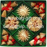Buy cheap Re: Supply Wheat Straw Christmas Decorations from wholesalers