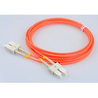 Buy cheap RoHs Telecom Fiber Patch Cords SC FC LC ST Mutlimode Duplex Optical Patch Cables from wholesalers