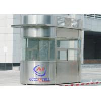 Buy cheap Custom Size Or Material Sentry Box Shed With Ticket Windows , Working Desk , Electricity , Light from wholesalers