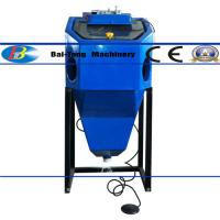 Wholesale Mini Suction Type Wet Sandblasting Cabinet 450*450*400mm Work Cabinet from china suppliers
