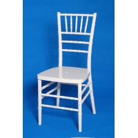 Indoor Banquet White Stackable Resin Chairs , Waterproof Stackable Chair Manufactures