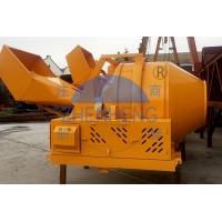Buy cheap Discharging 350L Concrete Mixer Machine Diesel Engine JZR350 Construction from wholesalers