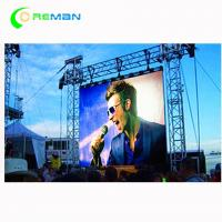 Buy cheap P8 P10 Indoor Outdoor Stage LED Display Rental , Advertising Stage Background LED Screen from wholesalers