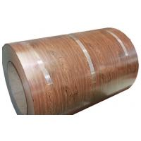 Buy cheap Full Hard HB PPGI Wooden Color Coated Steel Coil Construction Materials from wholesalers