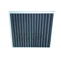 24 * 24 * 2 Activated Carbon Pre Air Filter Removing Odor Customized Size