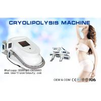 Portable Coolsculpting Cryolipolysis Slimming Machine , Cryotherapy Fat Freezing Device