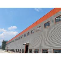 Buy cheap Large Span Light Steel Structure Warehouse Heat Insulated Little Noise product