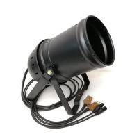 Buy cheap Linear Zoom 15 To 45 Degree COB LED Par Light 3200K 200W Warm White DMX Par Light from wholesalers