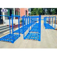 Buy cheap Stackable Tire Racks For Warehouse , Powder Coated Metal Stackable Steel Racks from wholesalers