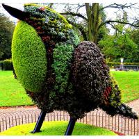 Wholesale Outdoor Garden Animal Topiary Bird Artificial Living Sculpture for Central Park Statue from china suppliers