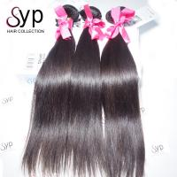 Buy cheap Cheap Remy Brazilian Virgin Straight Human Hair Bundle Extensions from wholesalers