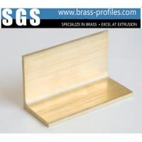 Buy cheap Durable Solid Brass L Edge Trim Sheet Hot Sale Copper L Bar from wholesalers
