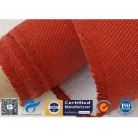 Buy cheap Electrical Insulation Red Silicone Coated Fiberglass Fabric Cloth 530 gsm from wholesalers